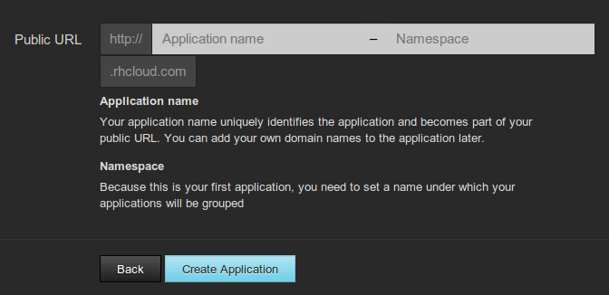 Openshift-application-subdomain