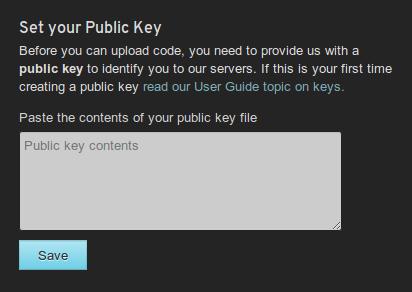 Openshift-public-key