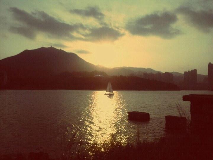 鯉魚門漁村-夕陽