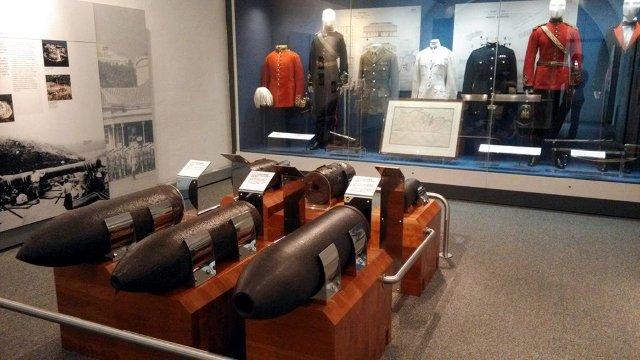 海防博物馆:英军装备