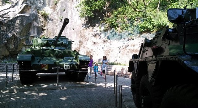 海防博物馆:解放军装备